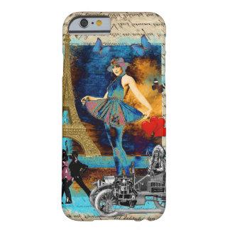 Romantic vintage Paris collage iPhone 6 Case
