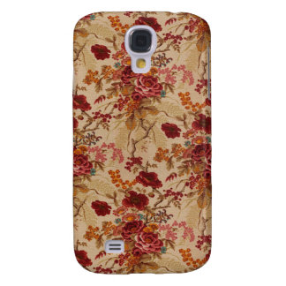 Romantic Vintage red Roses Samsung Galaxy S4 Covers