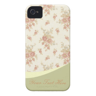 Romantic Vintage  Roses v4 iPhone 4 Cover