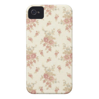 Romantic Vintage  Roses v5 Case-Mate iPhone 4 Case