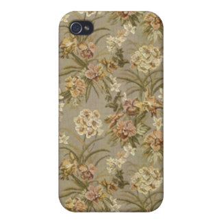 Romantic Vintage  Roses v8 Case For iPhone 4