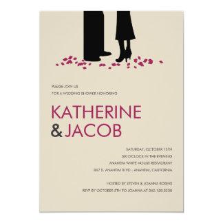 Romantic Vows Wedding Shower Invites