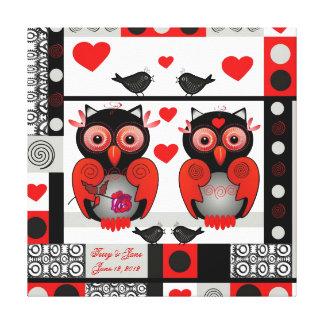 Romantic wedding or valentine print with text