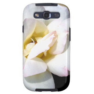 Romantic White Rose Vintage Soft Look Galaxy S3 Cases