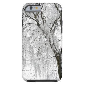 Romantic Winter Willow iPhone 6 Case