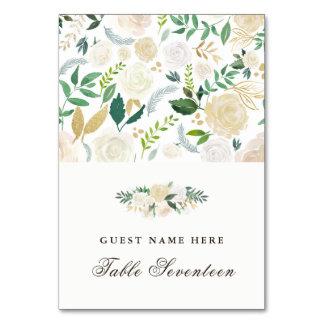 Romantic Woodland Escort Cards