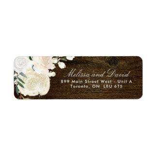 Romantic Woodland  Return Address Labels