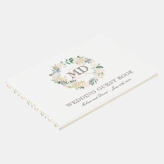 Romantic Woodland Wedding Guest Book