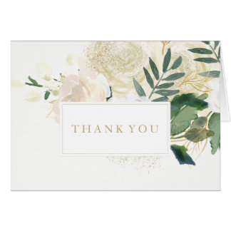 Romantic Woodland Wedding Thank You Cards