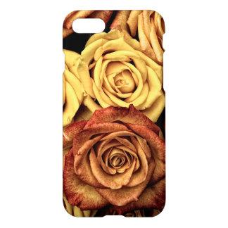 Romantic yellow Rose Case