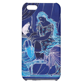 Romatic Sleeping Beauty Kiss Illustration iPhone 5C Covers