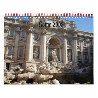 Rome 2008 wall calendar