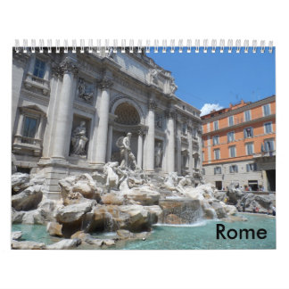 Rome 2016 wall calendars