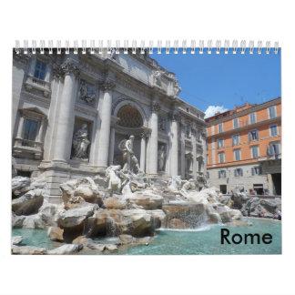 Rome 2018 wall calendars