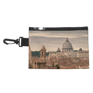 Rome Aerial View From Monte Pincio Sightseeing Accessory Bag