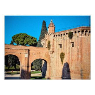 Rome architecture custom announcements
