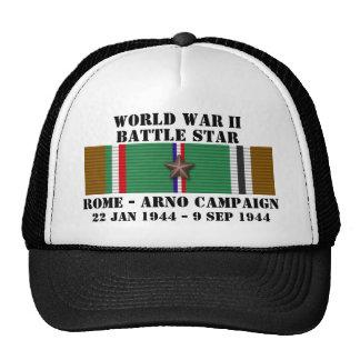 Rome - Arno Campaign Mesh Hats