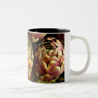 rome artichokes mug