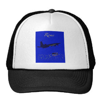 Rome at Night Mesh Hat