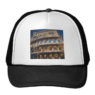 Rome at Night Mesh Hats