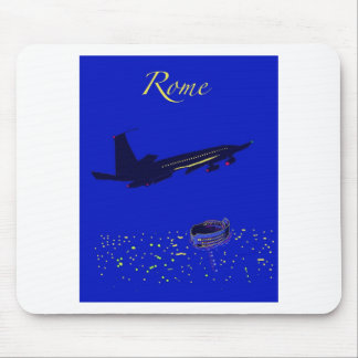 Rome at Night Mouse Pads