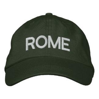 Rome Cap Embroidered Baseball Cap