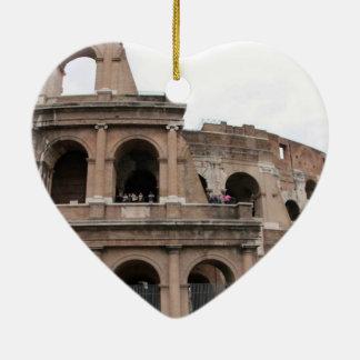 ROME CERAMIC HEART DECORATION
