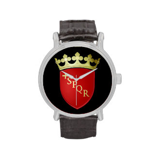 Rome* Coat of Arms Wristwatch