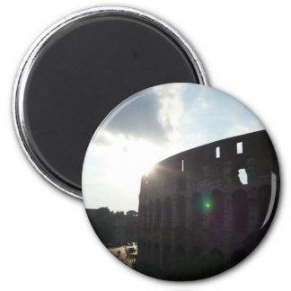 Rome Colosseum 6 Cm Round Magnet
