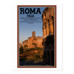 Rome - Colosseum and Temple of Venus Postcard