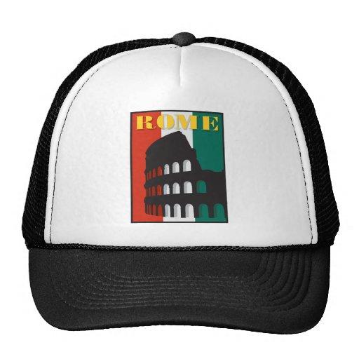 Rome Colosseum Trucker Hats