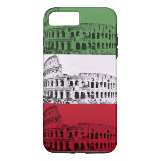 Rome Colosseum Italian Flag Phone Case