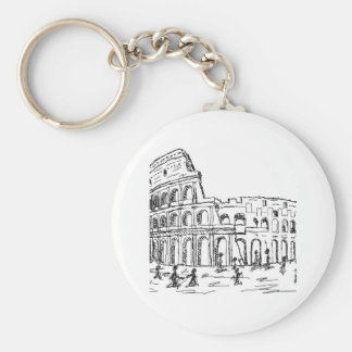 rome colosseum keychain
