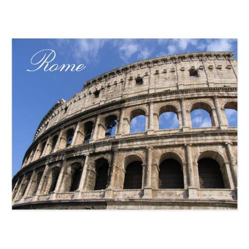 Rome, Colosseum Postcard