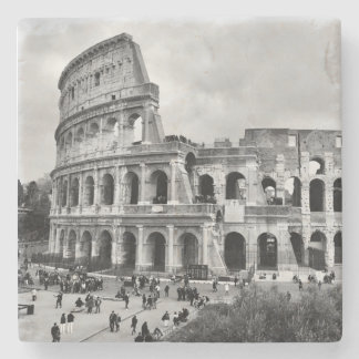 Rome Colosseum Stone Coaster Table Mat