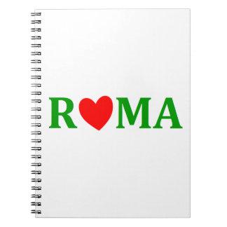 Rome Eternal City Spiral Note Book