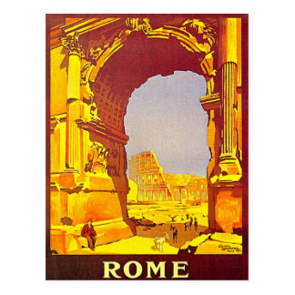 Vintage Rome Italy Postcards, Vintage Rome Italy Post Cards