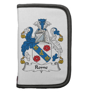 Rome Family Crest Planners