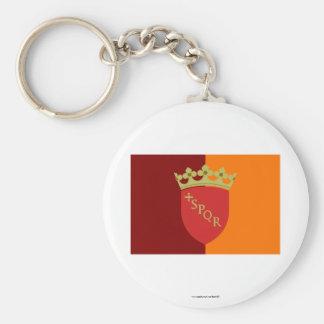 Rome Flag Keychains