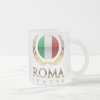 Rome Frosted Glass Mug