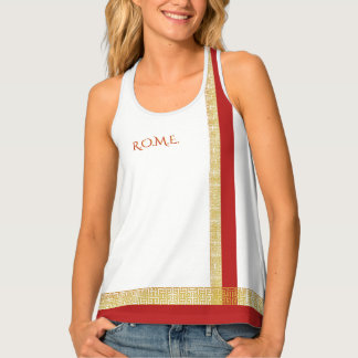 Rome funny one-of-a-kind customizable singlet