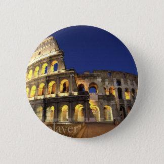 Rome - GalleryPlayer 6 Cm Round Badge