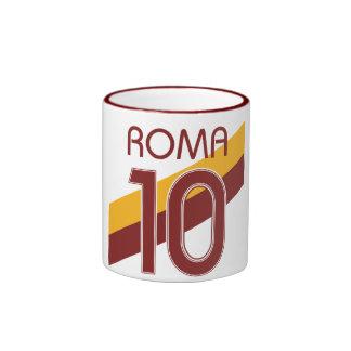 Rome Giallorossa Ringer Mug