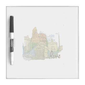 rome graphic travel image.png dry erase boards