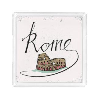 Rome Hand Lettered Design