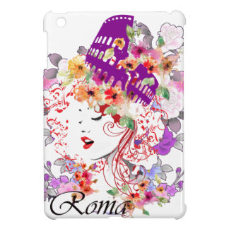 Rome in Woman Case For The iPad Mini