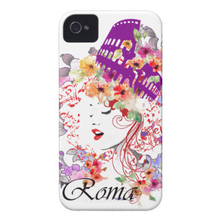 Rome in Woman iPhone 4 Case-Mate Cases