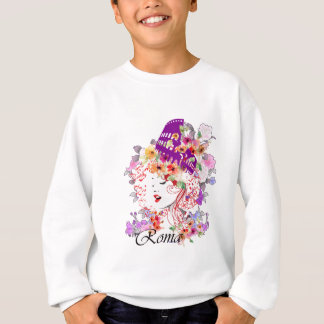 Rome in Woman Sweatshirt