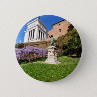 Rome, Italy 6 Cm Round Badge
