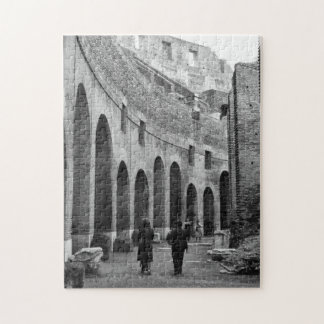 Rome Italy Ancient Ruins Colosseum Architecture Jigsaw Puzzle